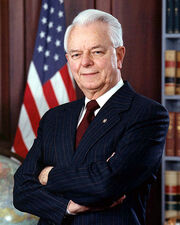 Democrat Senator Robert Byrd