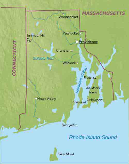 Rhode Island Liberapedia FANDOM Powered By Wikia - Massachusetts physical map