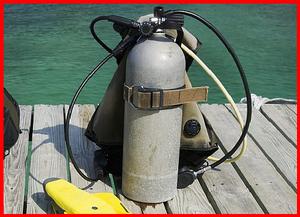 IFWT scuba tank