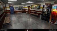 Blackwell Academy Pool Corridor Concept Art by Gary Jamroz-Palma