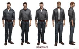 Life is Strange Concept Art William Price by Fred Augis
