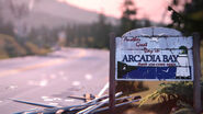Sac arcadia bay ending twin peaks reference