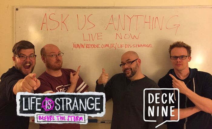 Before the Storm Reddit AMA