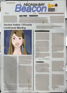 Rachel Amber Newspaper Dark Room cut