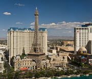 695px-The hotel Paris Las Vegas as seen from the hotel The Bellagio