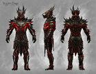 Daedric Armor Concept