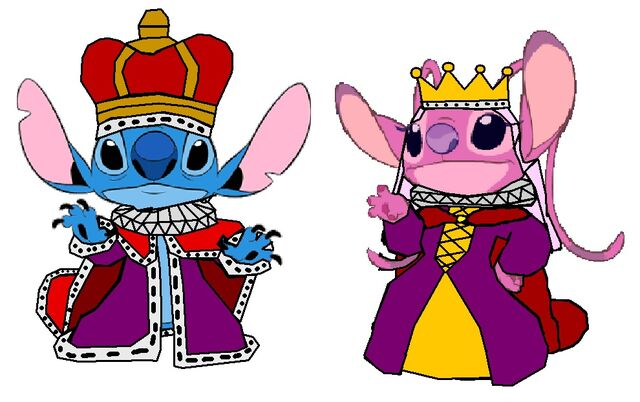File:King Stitch and Queen Angel.jpg