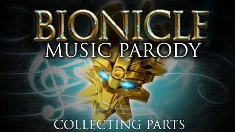 BIONICLE Music Parody 'Collecting Parts' - Parody of OneRepublic's Counting Stars