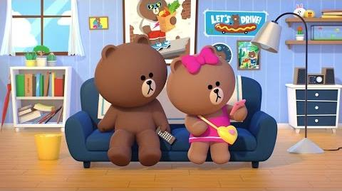 Brown and his little fashionista sister, CHOCO @ home