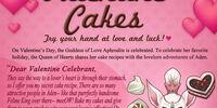 Valentine Cakes Event