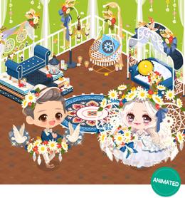 Fall Flower Wedding Gacha Banner