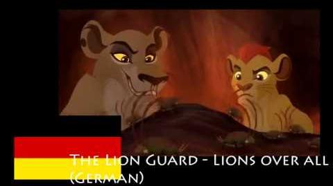 Lions Over All (German)