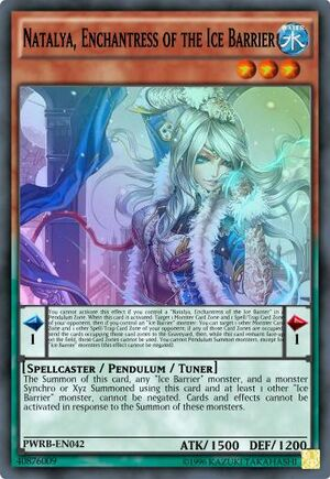 Natalya Enchantress of the Ice Barrier