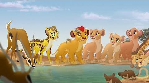 Lion Guard Fujo The Rise of Scar intro song HD Clip