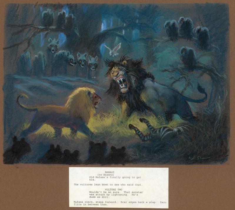 Image Scarvsmufasa Kingofthejungle Png The Lion King
