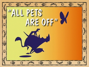 All Pets Are Off