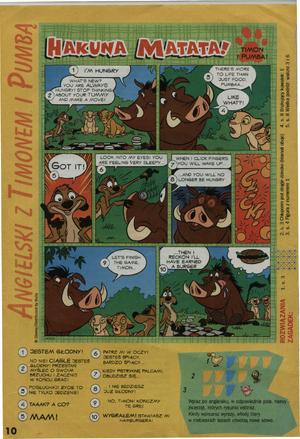 Timon n Pumbaa comic 1