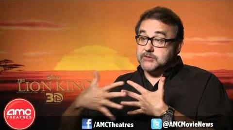 THE LION KING 3D Producer Don Hahn Talks With AMC