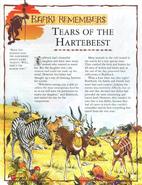 Tears of the Hartebeest 1