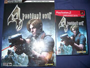 PlayStation 2 Resident Evil 4 covers