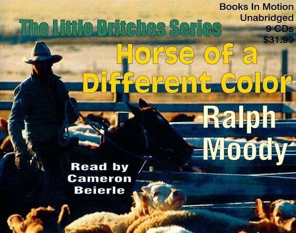 File:Horse of a Different Color audiobook cover.jpg