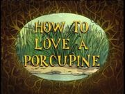 HowtoLoveaPorcupine