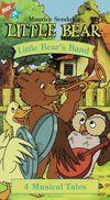 Maurice Sendak's Little Bear, Little Bear's Band (VHS, 2000)