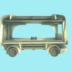 Bus shaped pod