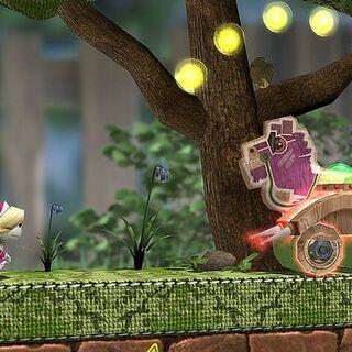 Gameplay of Run Sackboy! Run!