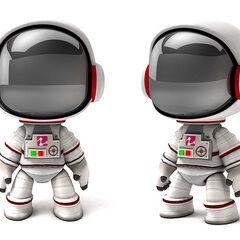The Rare Astronaut Costume