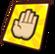 Golden peace card