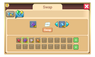 Swap gems