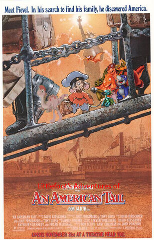 File:Littlefoot's Adventures of An American Tail Poster 2.jpg