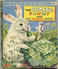 The White Bunny and His Magic Nose