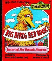 Big birds red book 1977 little golden book