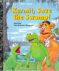 Kermit save the swamp
