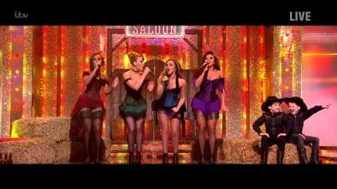 Little Mix Perform Country Version of Black Magic - Saturday Night Takeaway