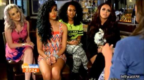Little Mix USA Interview on Daybreak 7 6 13