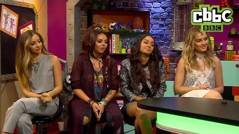 Little Mix appear on CBBC