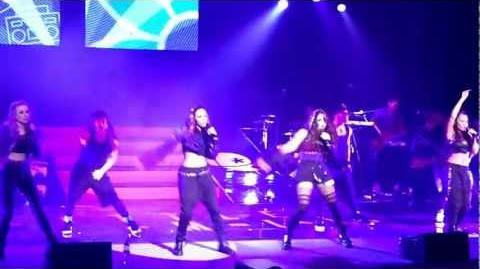 LITTLE MIX DNA TOUR RHYL 2013 - HEY HOW YA DOING
