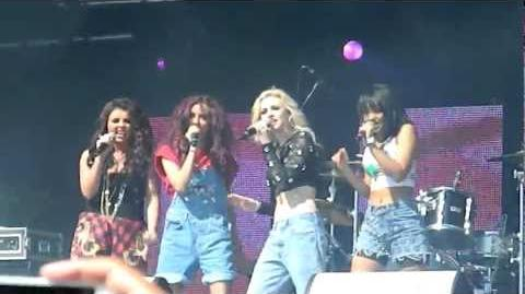 LITTLE MIX- WINGS - PARTY IN THE PARK LEEDS 2012 LIVE