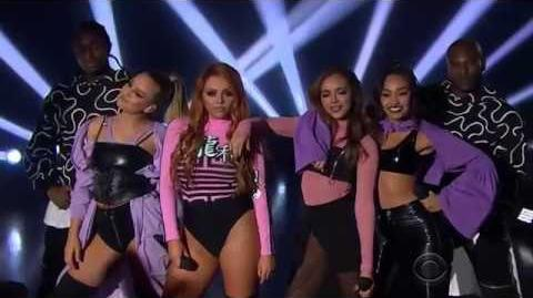 Little Mix Performing Touch On The Late Late Show With James Corden 3 29 17