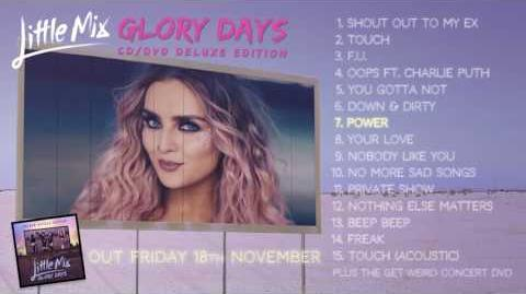 Little Mix 'Glory Days' CD DVD Deluxe Album Sampler
