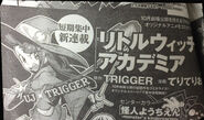Little Witch Academia Manga 2 announcement 2