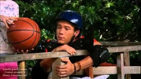 Maddie and josh's basketball match - Vive-la-Rooney