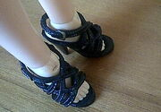 Liv high heels cropped