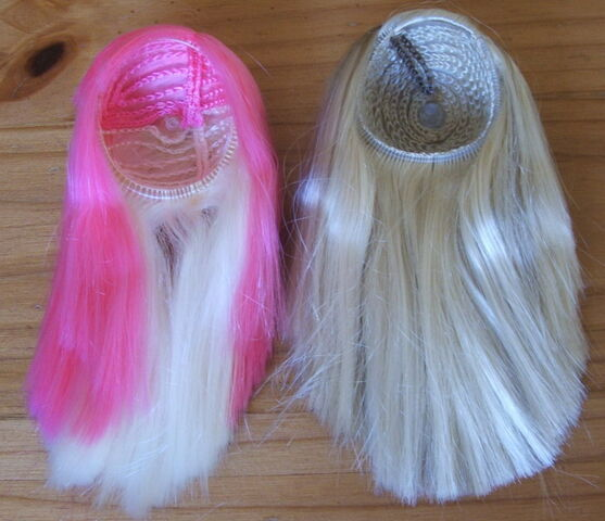 File:Two wigs pinkblonde and blonde small.jpg