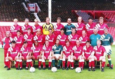 LiverpoolSquad1991-1992