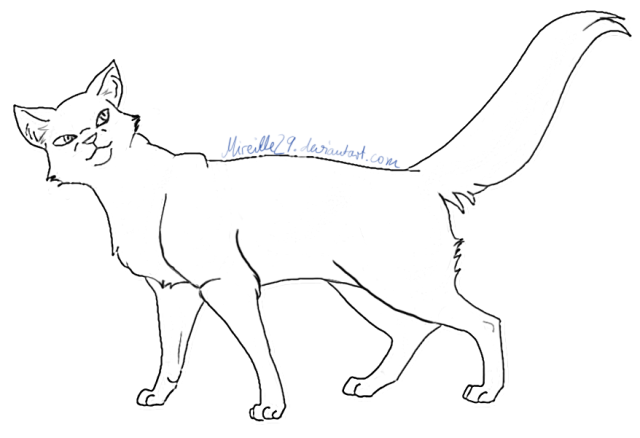 File:640px-Lineart Cat 07 by Mireille29.png