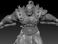 Zbrush orc version 2 by chrisgabrish-d5p307h